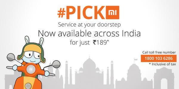 Xiaomi Pick Me Service