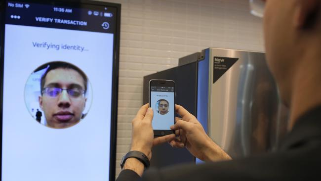 Master Card face recognition