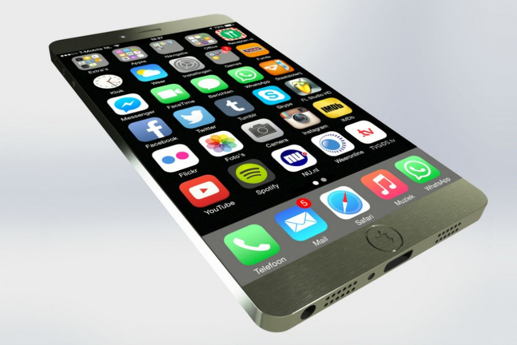 iPhone with 5.8 inch screen to launch in by 2017-2018
