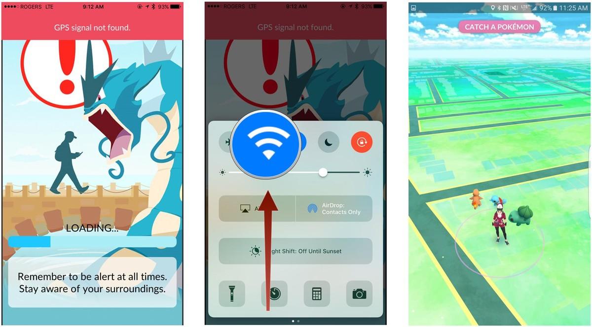 Pokemon Go GPS Not working
