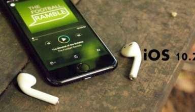 Apple iOS 10.2