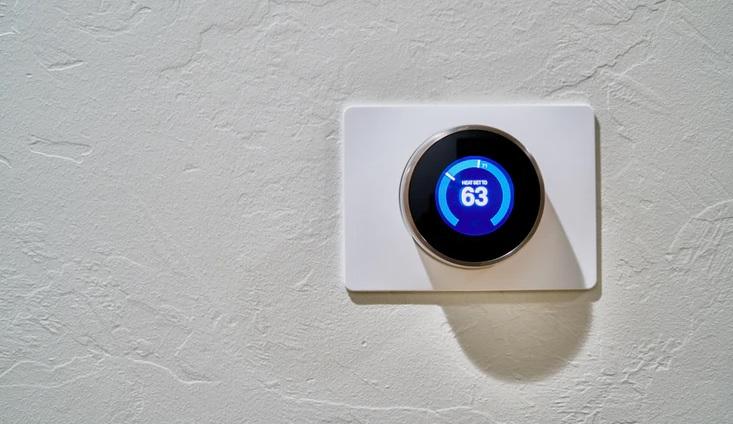 modern thermostat